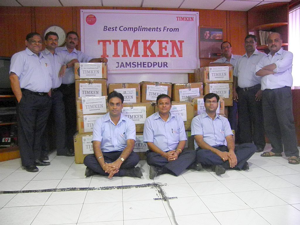 Timken donates Rs.49 Lakhs to Sankara Eye Hospital for an OCT Equipment