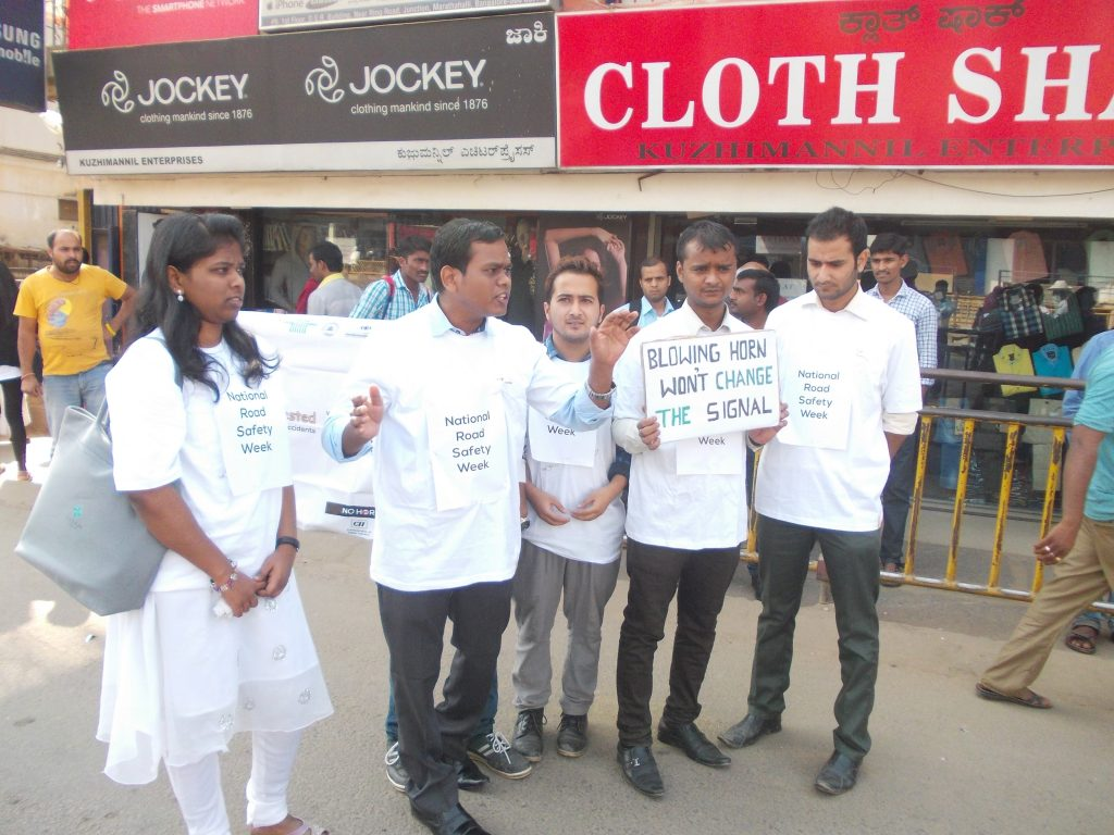 "Sankara Eye Foundation teams up with Young Indians CII to say ""Eyes on Road & Horn Not OK"""